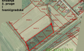 Land plot near the railway station and road